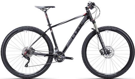 MTB-cykel med komfort